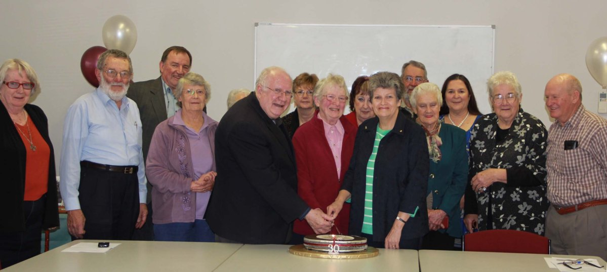 30th Anniversary Celebrations of the Avoca and District Historical Society – 18 May 2014.