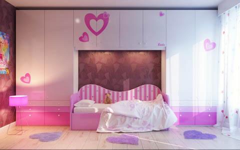 รวม 6 แบบห้องนอนเหมาะสมสำหรับเด็กและผู้ที่ชอบความสดใส