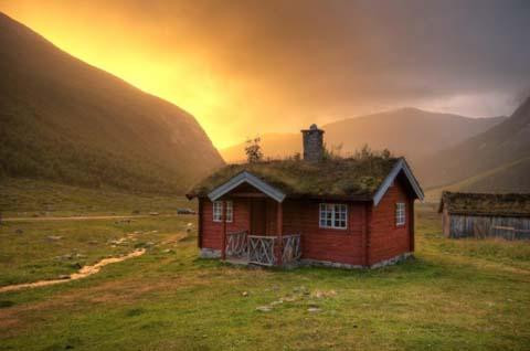 รวมบ้านสวยๆ แบบกระท่อมเหมือนนิยายชอบเขียนกัน