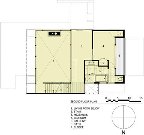 แบบบ้านไม้ 2 ชั้น สไตล์โมเดิร์น