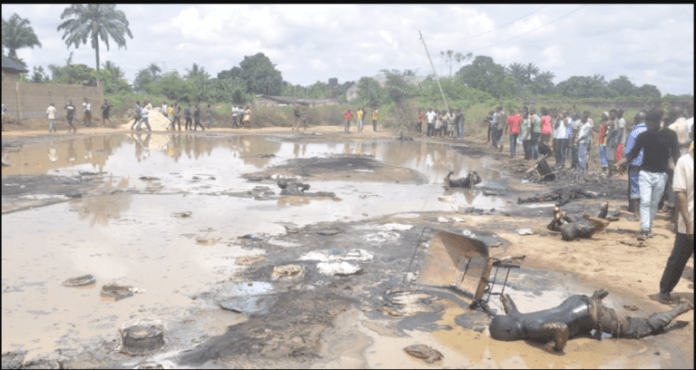 Pipeline explosion: 50 burnt to death in Aba (Graphic Photos) 5