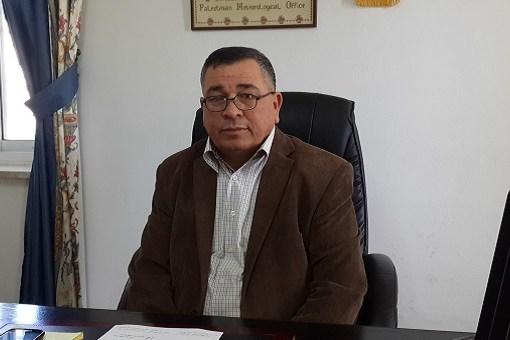 يوسف أبو أسعد مدير عام الأرصاد الجوية