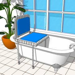 Difference Between Shower Chair And Tub Transfer Bench Stool Price List Bath For Clawfoot The Best Options Homeability Com Bathtub