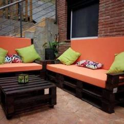 Diy Sofa From Pallets Making Slipcovers For 10 Designs Homeadmire