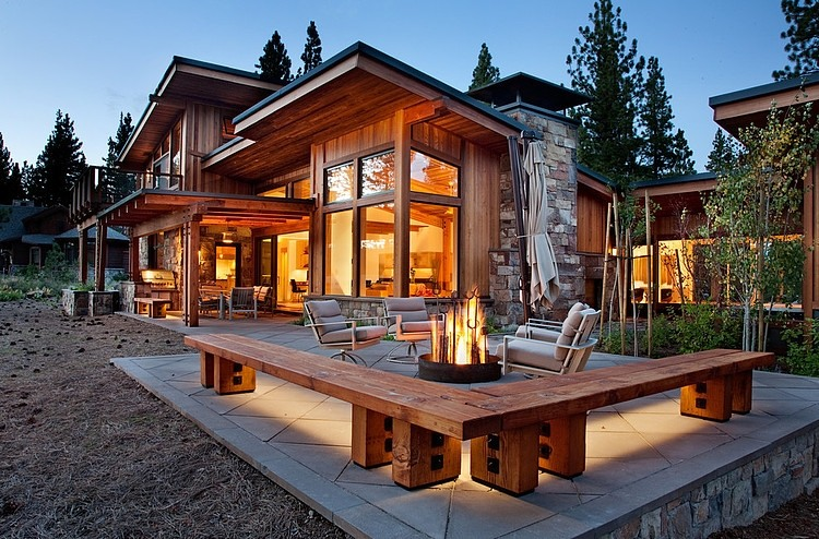 House Plans Luxury Mountain Home Design Regarding Rustic Mountain