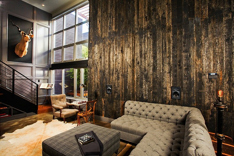 Industrial Retro Interior Design