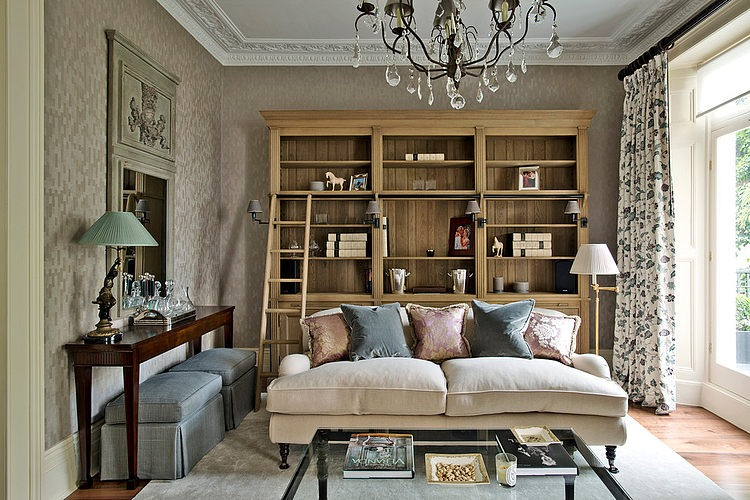 London Townhouse By Sims Hilditch HomeAdore