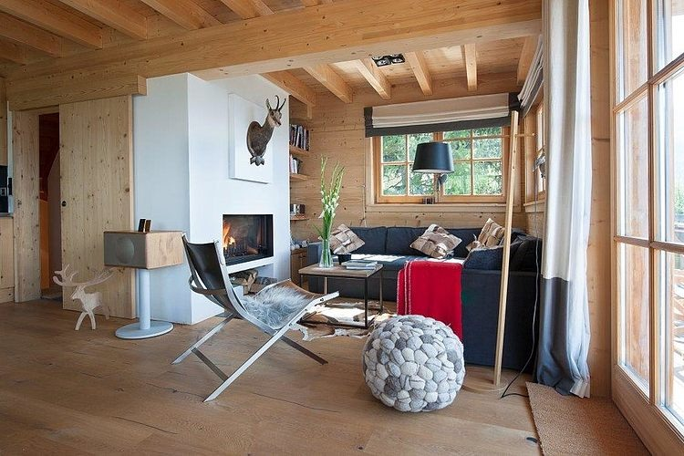Chalet in Switzerland by Donatienne dOgimont  HomeAdore
