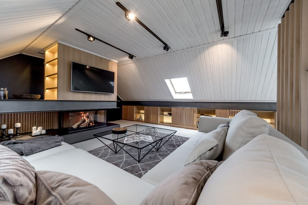 Attic Apartment By Lofting HomeAdore
