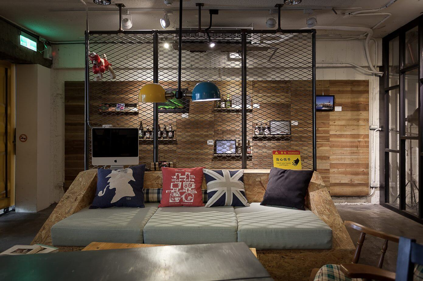 Laundry Amp Coffee Shop By Formo Design Studio Homeadore