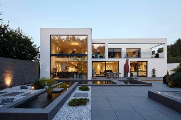 Villa In Dormagen Falke Architekten Homeadore