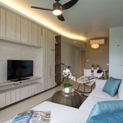 Asian Themed Living Room Interior Design Ideas For Apartments Beach House Apartment By Vievva Designers « Homeadore