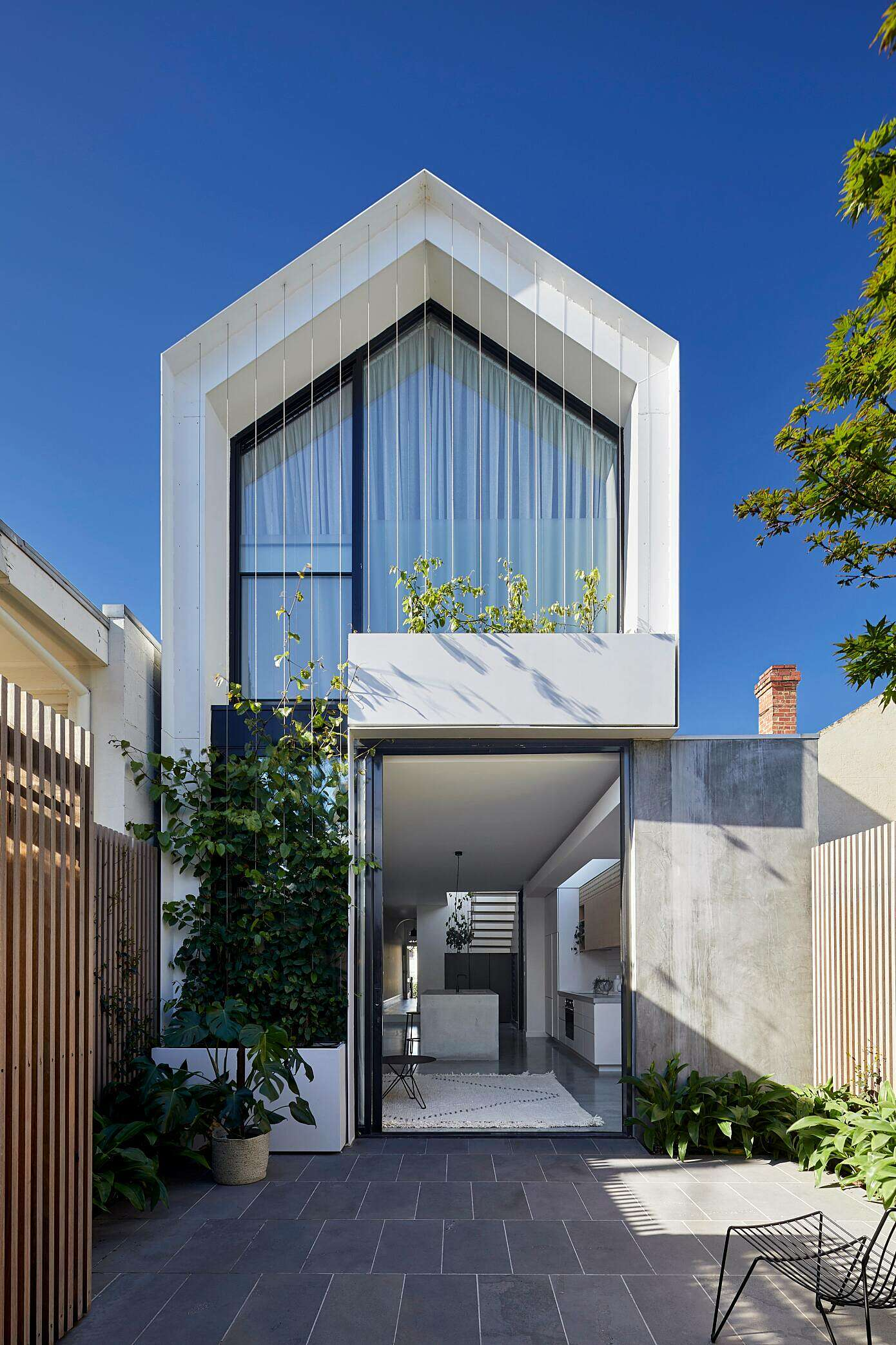 Cable House By Tom Robertson Architects HomeAdore