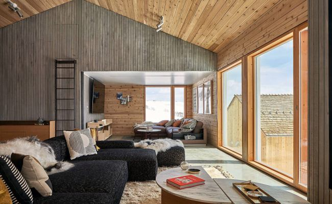 Mountain House By Mackay Lyons Sweetapple Architecture