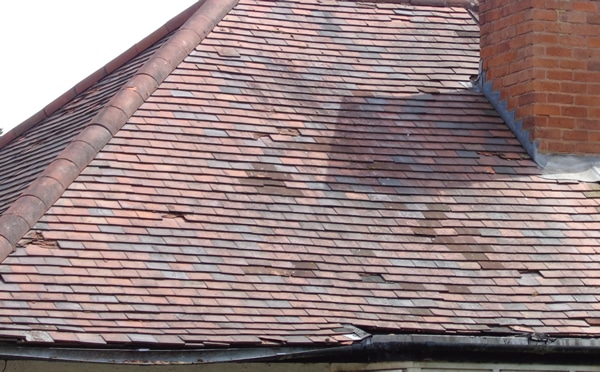 Roof Repairs Slipped Amp Missing Tiles Defect Pointing