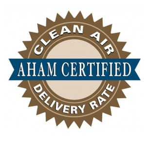 Graphic of AHAM Certification Seal