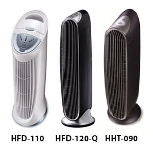 Photo of Tower Design Purifiers HFD-110, HFD-120-Q, HHT-090