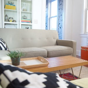 Photo of a home living room