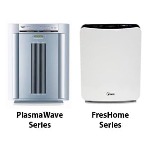 Photo of PlasmaWave and FresHome Series Air Purifiers