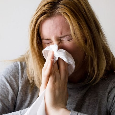 Photo of Woman with Allergies