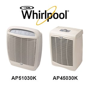 Photo of Two Whirlpool Air Purifiers