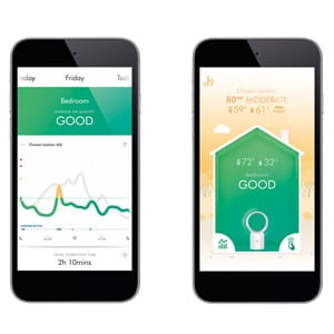 Photo of Smart Air Purifier App Air Quality Data