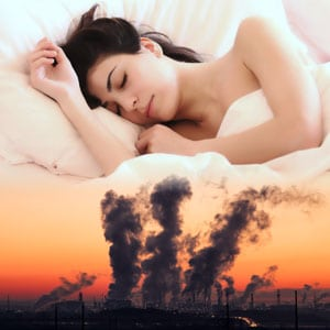 Photo of Sleeping and Air Pollution