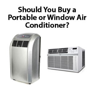Photo of a Portable and Window Air Conditioner Units