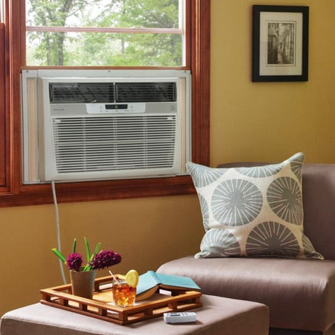 Photo of Window Air Conditioner in Room