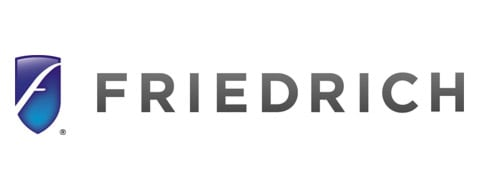 Graphic of Friedrich Logo