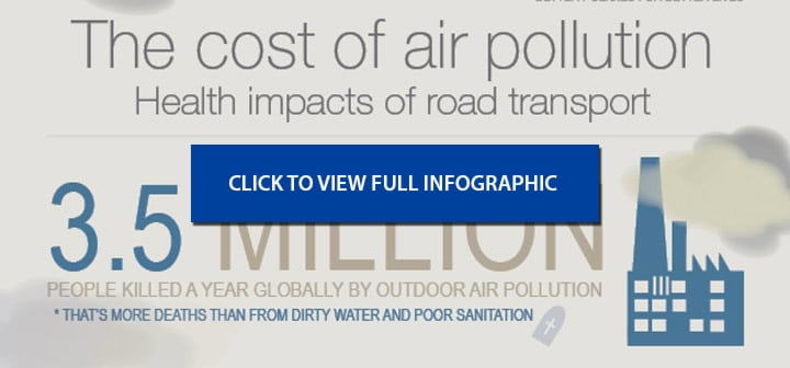 OECD Infographic on the Cost of Air Pollution