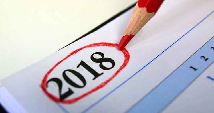 Photo of New Year Calendar