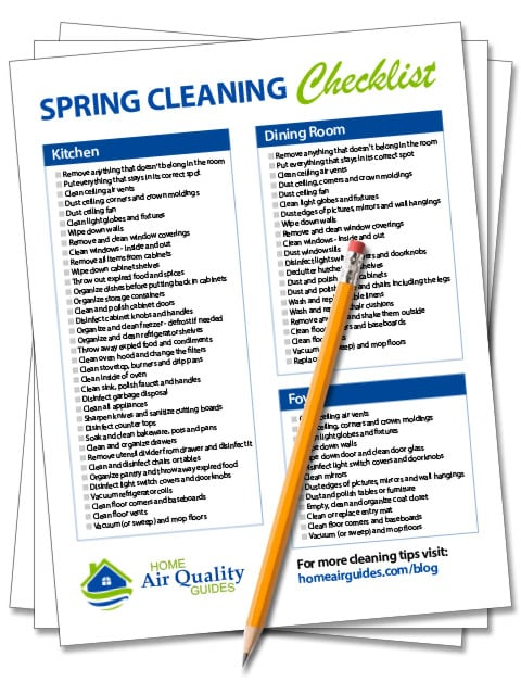 photo regarding Printable House Cleaning Checklist known as The Least difficult Spring Cleansing Record + PDF (Place by means of Area
