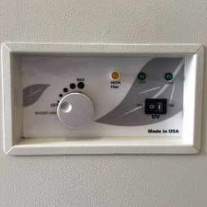 Photo of Mobile UV System Panel
