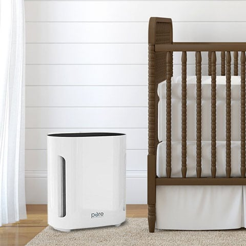 Photo of a baby air purifier