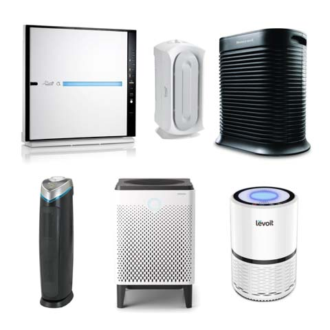 Group of Air Purifiers