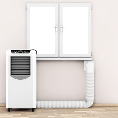 Portable Air Conditioner Venting Through Wall