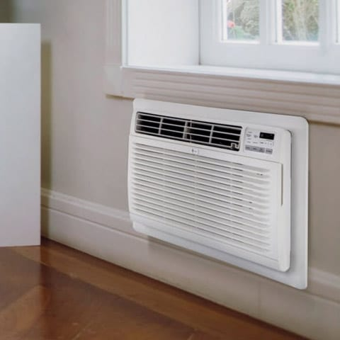 Photo of a through the wall air conditioner