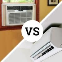 Photo of Mini Split AC and Window AC Unit
