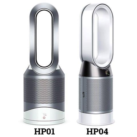 Dyson HP01 vs TP04 Design