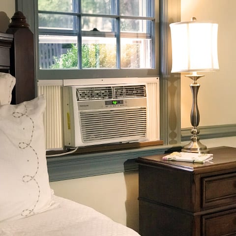 Photo of Window Air Conditioner in Bedroom