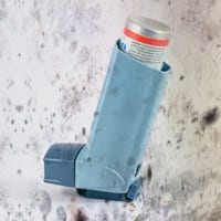 Photo of Mold and Inhaler