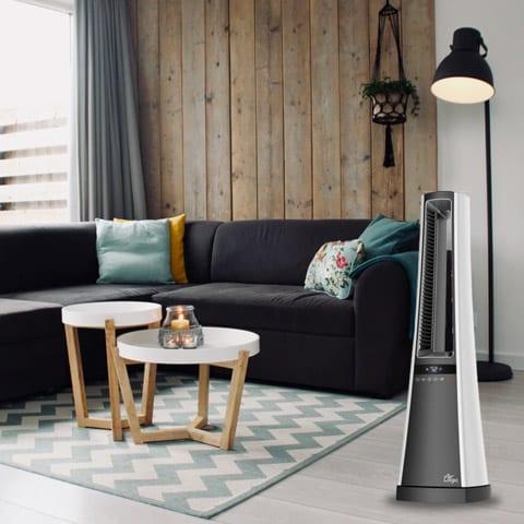 Photo of a Ceramic Heater in a Room