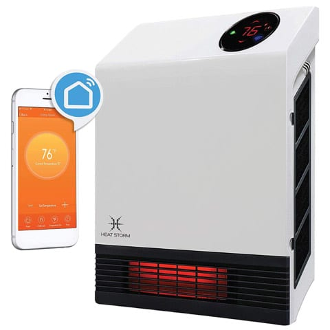 Heat Storm HS-1000-WX-WIFI Infrared Heater
