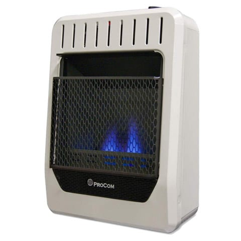 Permanent Indoor Propane Heater