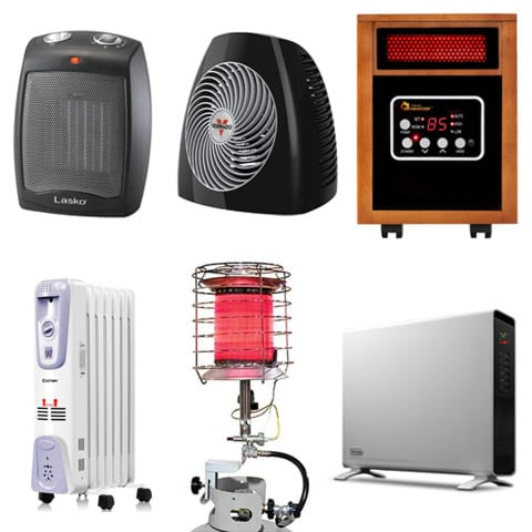 Photo of the Types of Space Heaters Available