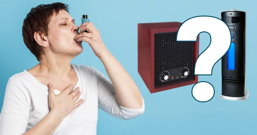 Are ionizers bad for asthma?