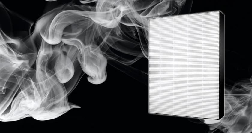 Do HEPA filters remove smoke