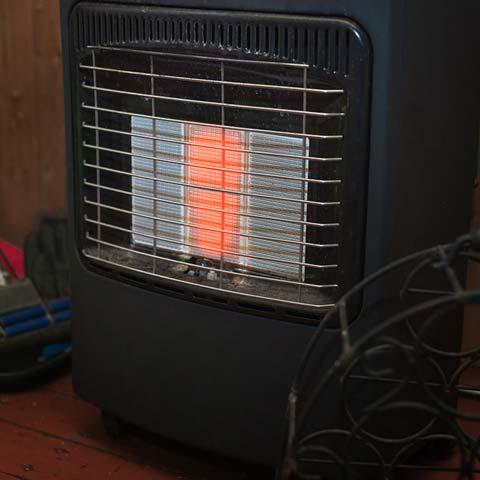How do propane heaters work