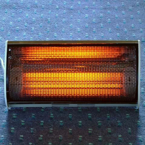 How do radiant heaters work